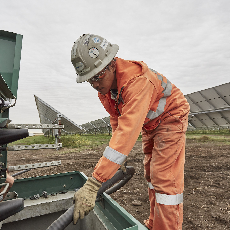 Montana First Nation Solar Photovoltaic Facility