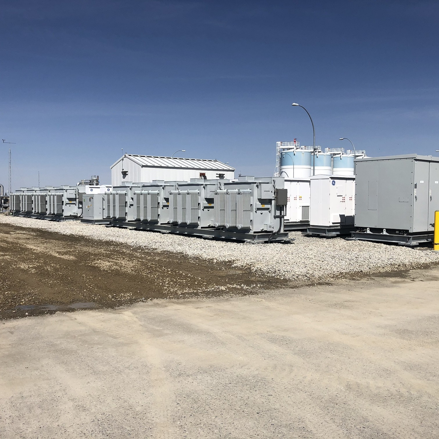 Wellhead Crossfield Battery Energy Storage System